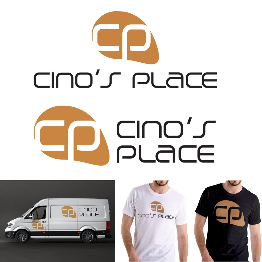 Logo design proposal for Cino's place