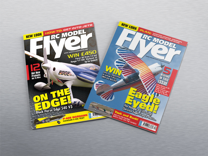 Cover Designs for RC Fyer magazine