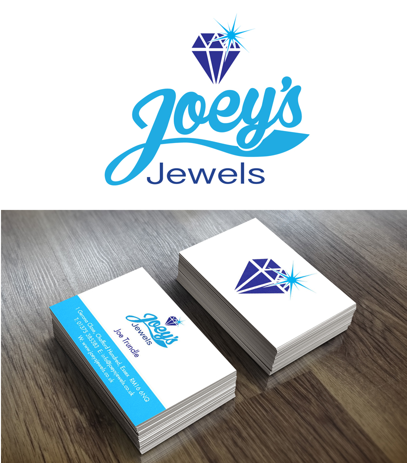 Logo design for Joey's Jewels