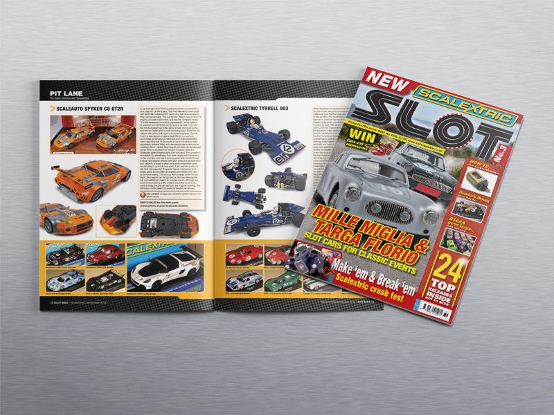 Magazine design for Slot Magazine