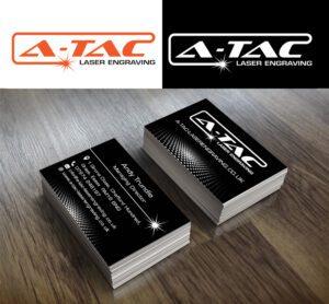 Logo design for A-Tac Laser Engraving