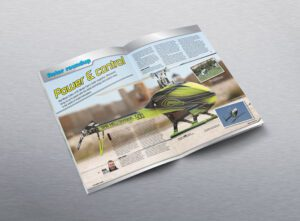 Editorial Design for RC Fyer magazine