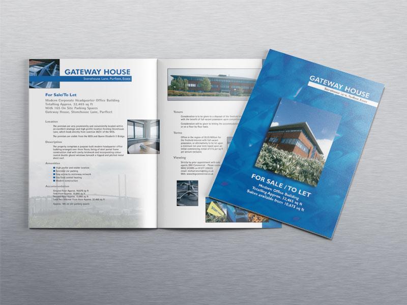 Commercial property sales brochure for Bidwells