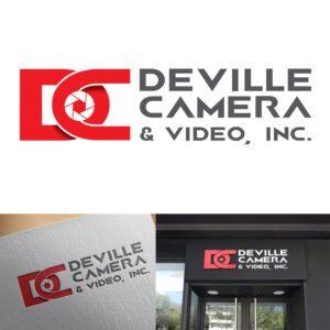 Logo design for Deville Camera & Video store